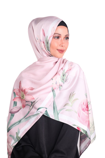 EID : Rosie Bloom Satin Luxe - Dusty Pink
