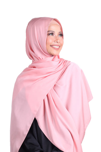 Luxe Antalya Scarf - Soft Pink