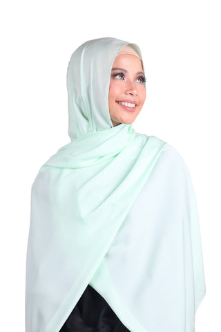 Luxe Antalya Scarf - Mint Green