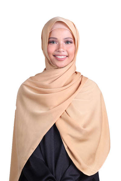Luxe Antalya Scarf - Dusty Gold
