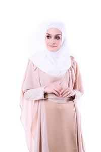 Harmalah Flowy Kaftan - Dusty Gold