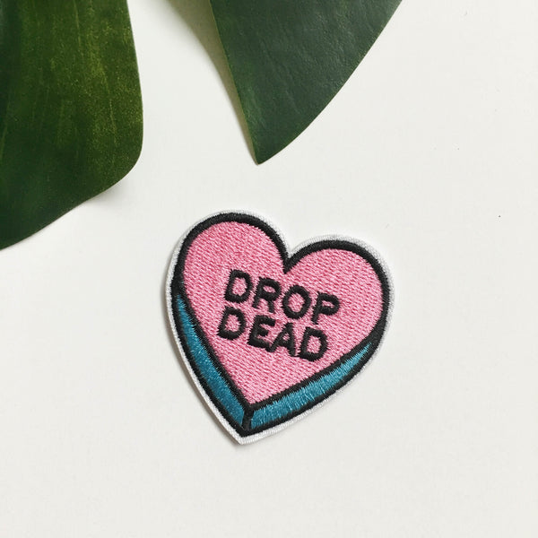 Iron on patches - Drop Dead