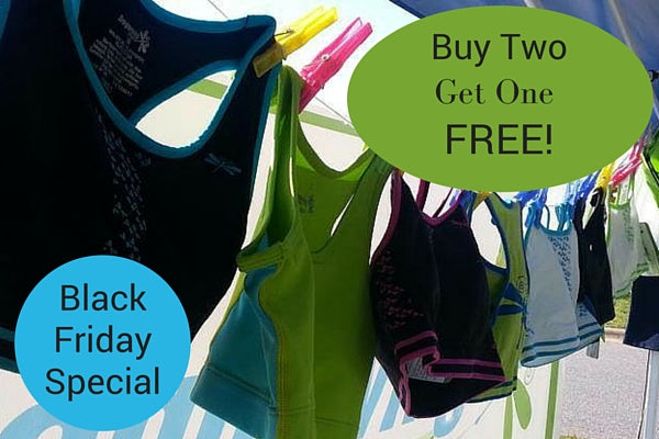 Buy 2 Dragonwing bras for girls, get 1 more free with promo code 3BRAS. Shop here