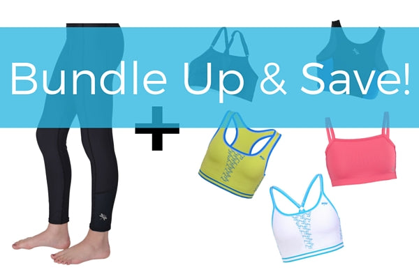 Save up to $19 on leggings for girls plus two sports bras for teen, tween girls