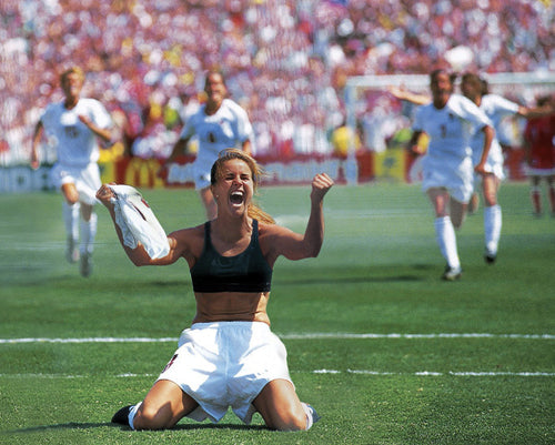 Brandi Chastain goal in 1999 Women's World Cup brought Sports bra public