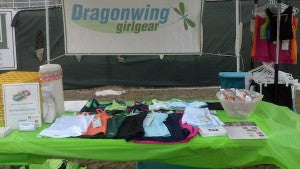 Dragonwing athletic wear clothing for active girls at Girls on the Run 5K