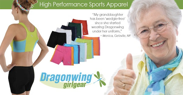 Review: girls spandex compression shorts