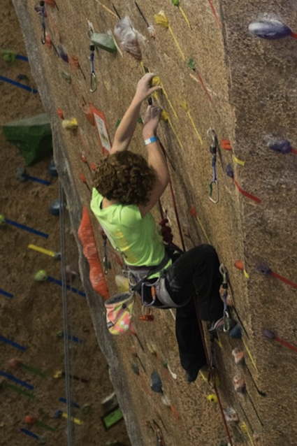 Rock climbing is my passion