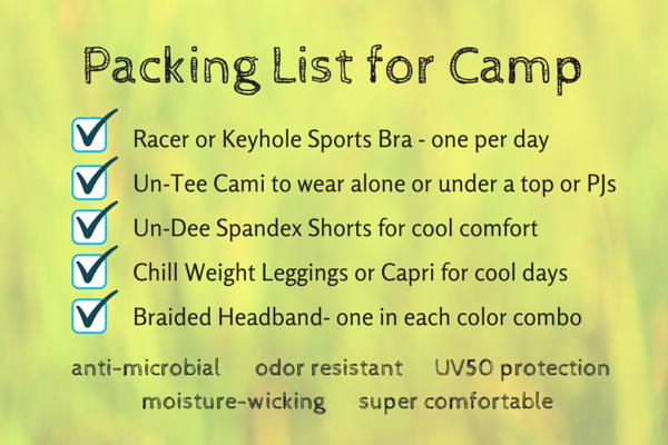 Summer Camp Essentials to Pack for Active Girl