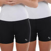 Two Pack Un-Dee™ Light Low Rise Compression Short Black - Dragonwing girlgear