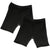 Two Pack Un-Dee™ Spandex Compression Short in Black Regular Rise - Dragonwing girlgear