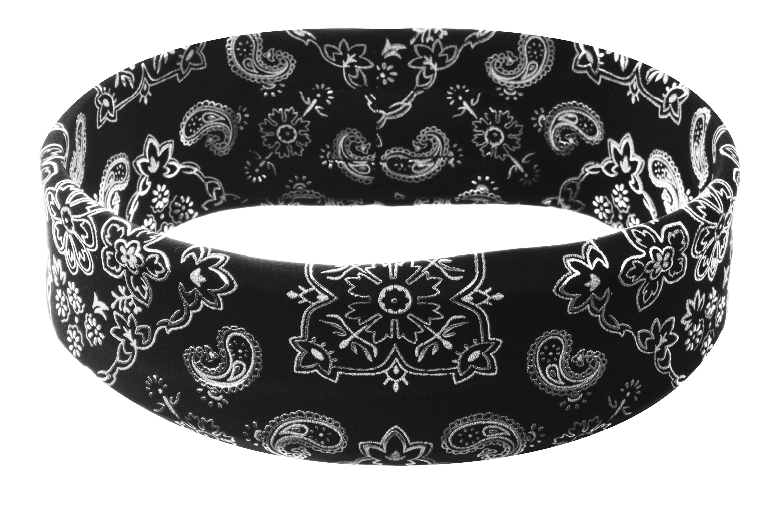 Black Bandana Headband 33242ea91e7