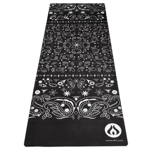 Black Bandana Fusion Mat - BLOWOUT SALE