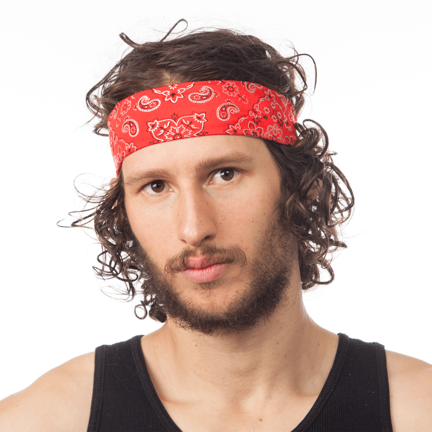 Red Bandana Headband (Man) ac23ae9f133