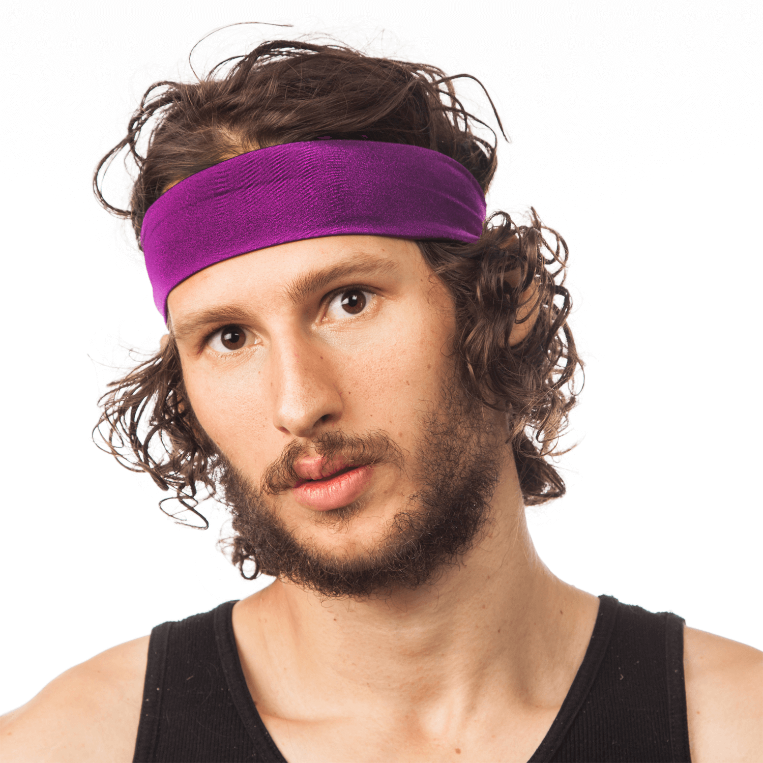 Man S Hand Bands: Exotic Purple