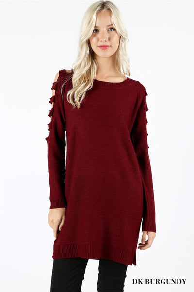 Cut-Out Accent Tunic