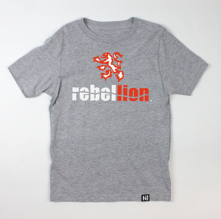 """Rebel Lion"" Youth Tee"