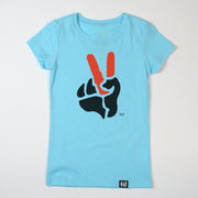 """Peace Sign"" Girls' Tee"