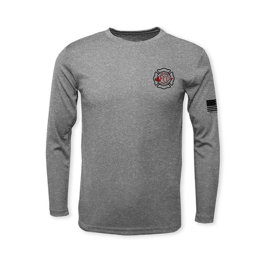2020 Performance Heather Long Sleeve T-Shirt