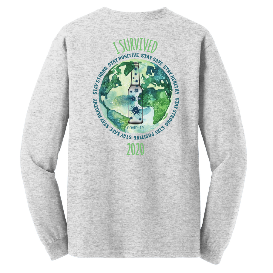 I Survived Classic Cotton Long Sleeve Tee