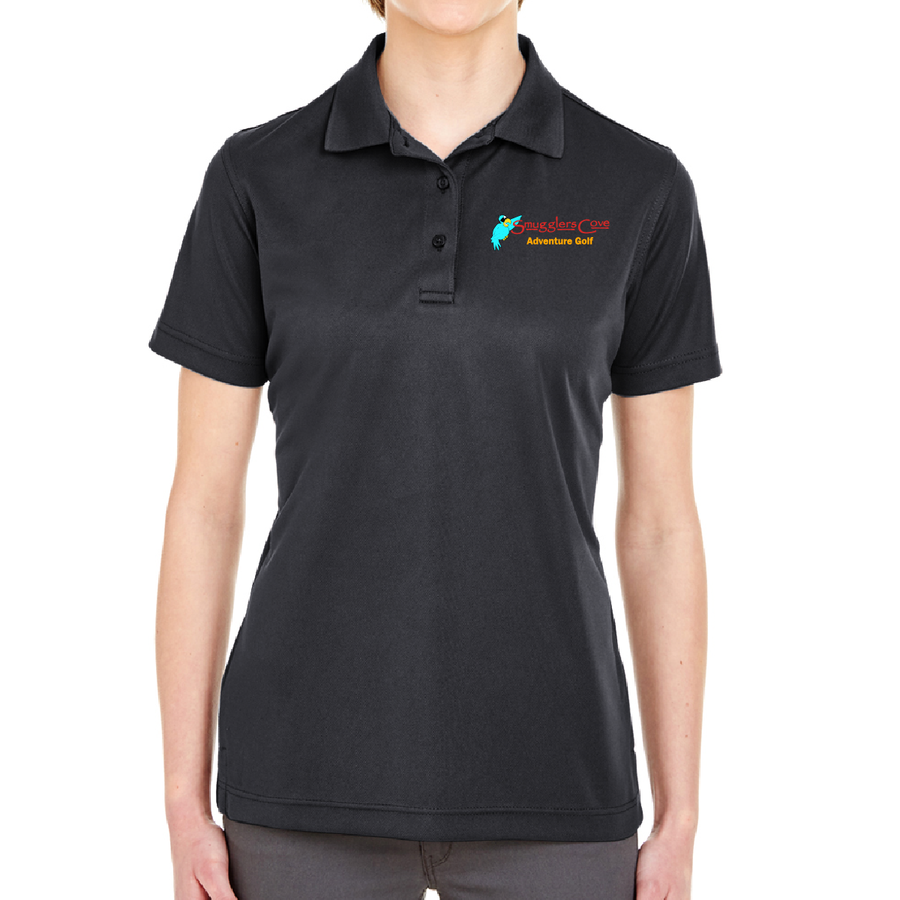 Smugglers Cove Embroidered Women Staff Performance Polo