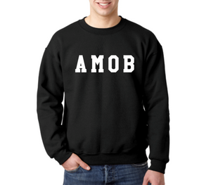 Unisex Heavy Blend™ Fleece Crew - AMOB Varsity