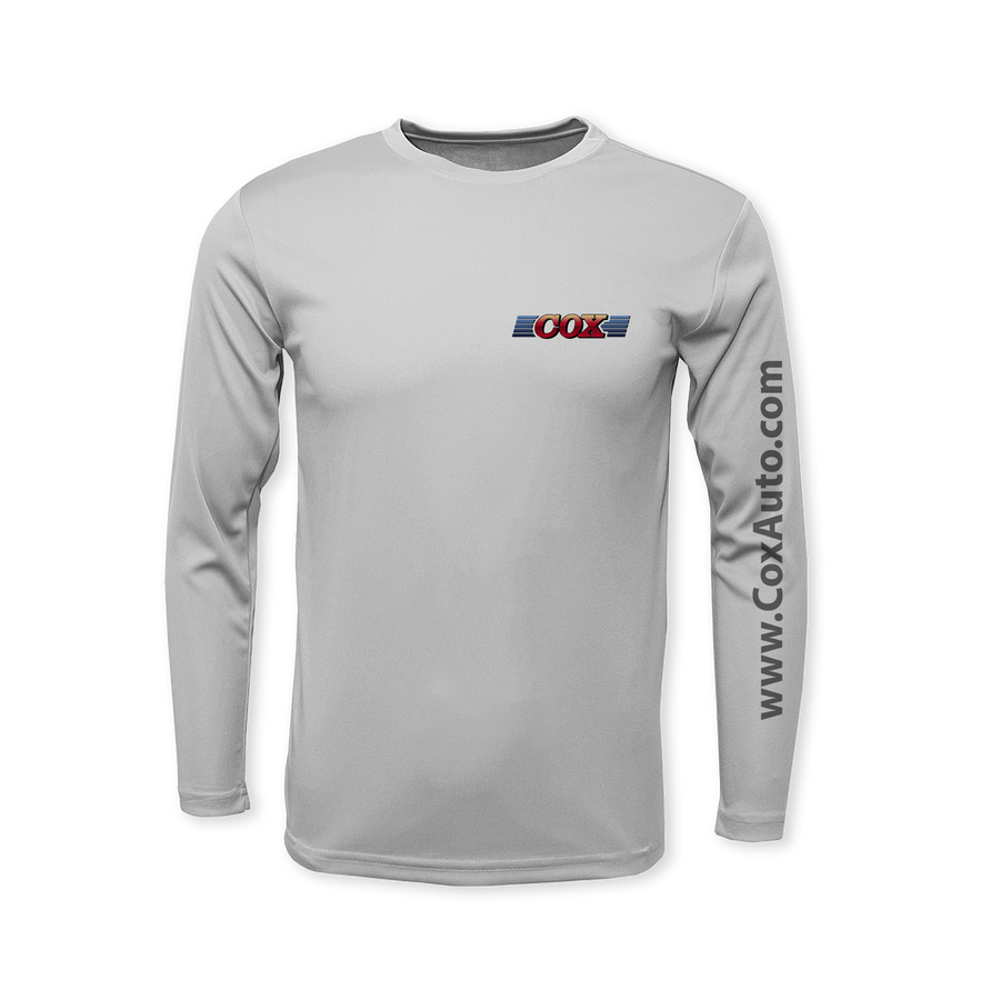 Cox Performance Flag Long Sleeve T-Shirt