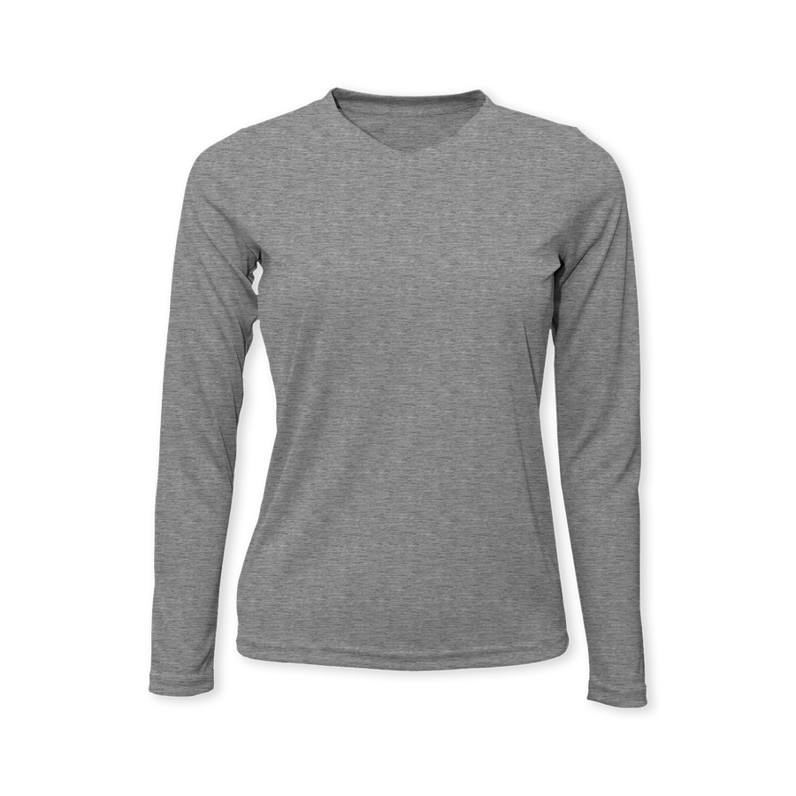 Performance Ladies Heather Long Sleeve T-Shirt