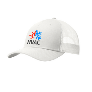 HVAC |  Embroidered Trucker Snapback Cap