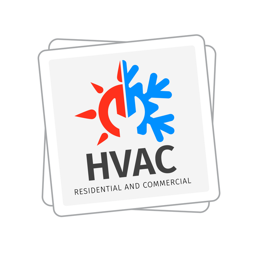 "HVAC | 3"" Decal Stickers"