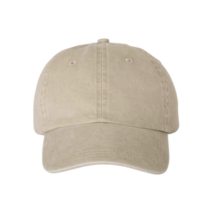 "Embroidered Garment Washed ""Dad Hat"""