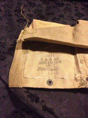 M1937 Modified belt, USMC flaps, demilled