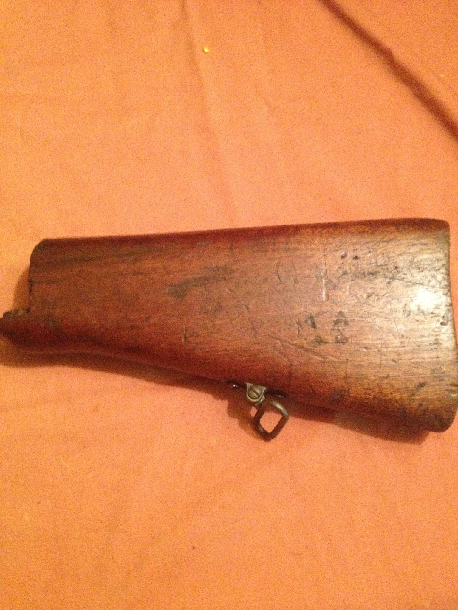 Wood Colt Commercal type stock