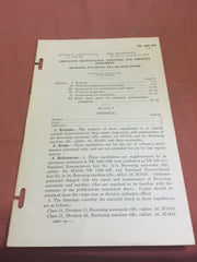 Technical Regulations 1400-30E Browning Automatic and Machine rifle Ordnance Maintenance