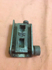 Milled early M1918a2 rear sight