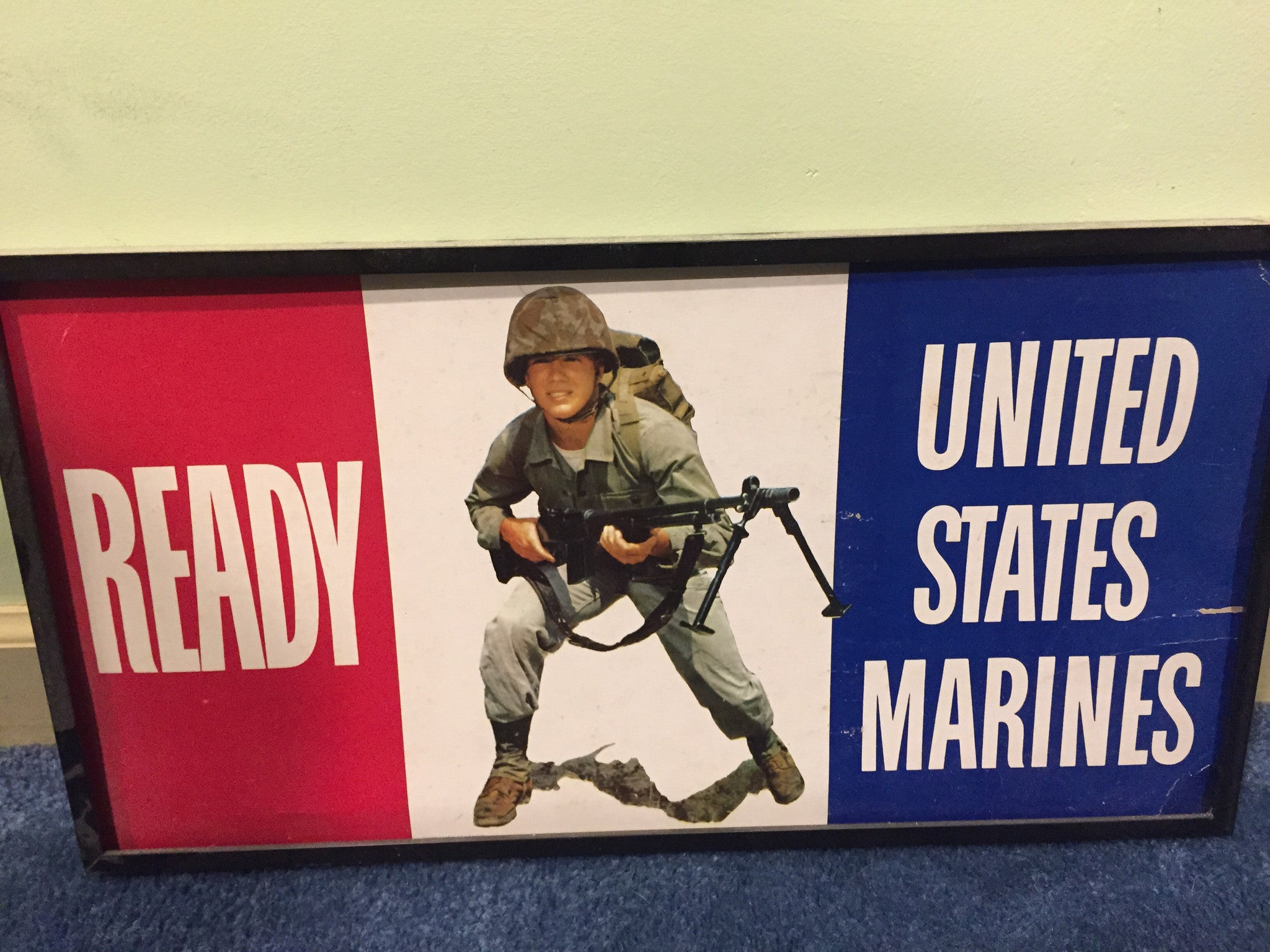 Ready USMC recruitment poster