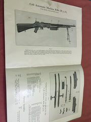 Insert for Colt Automatic Machine Rifle (R75) Handbook