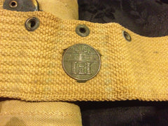 WWI 2nd assistant gunners belt