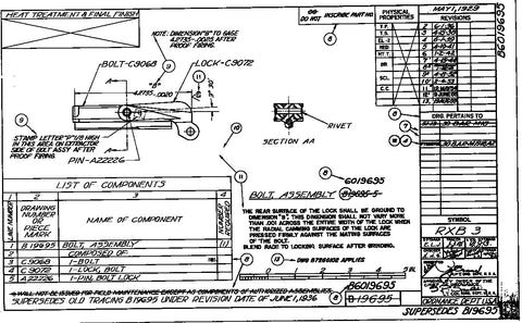 Complete set of M1918a2 blueprints and drawings DIGITAL DOWNLOAD