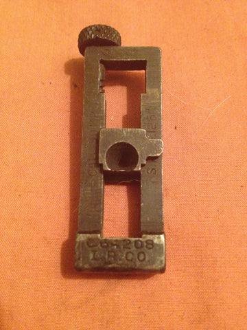 Early WWII M1918a2 rear sight leaf assymbly