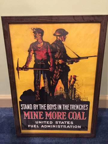 Stand by the boys WWI poster (repro)