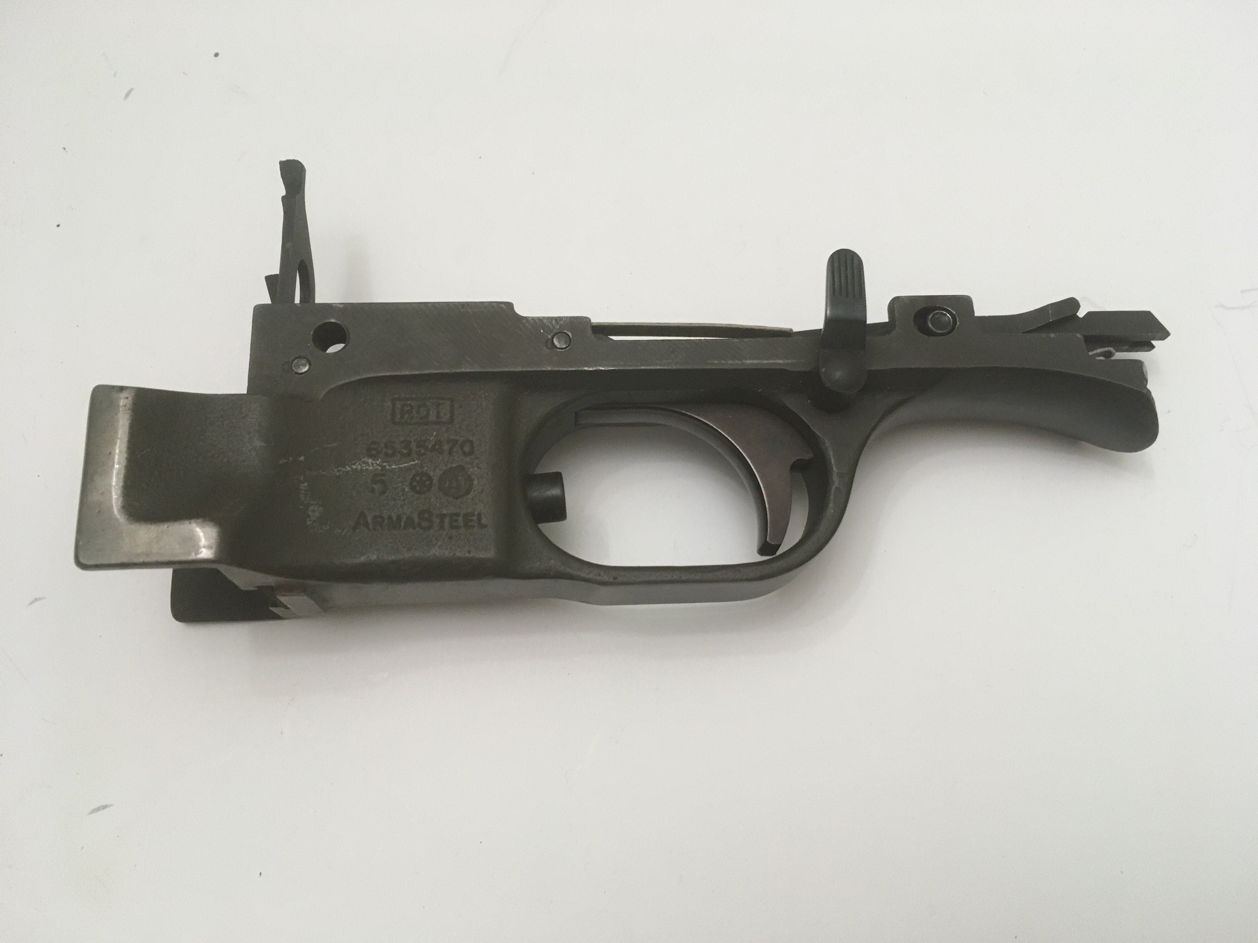 ROT Armasteel trigger group; very good condition