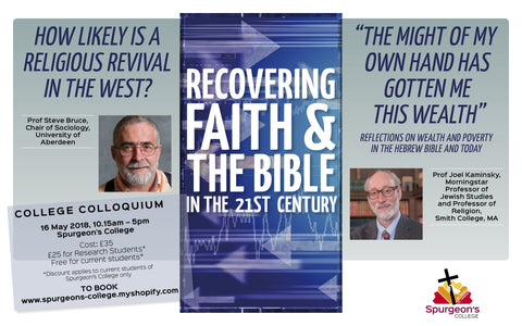 Recovering Faith and the Bible in the 21st century