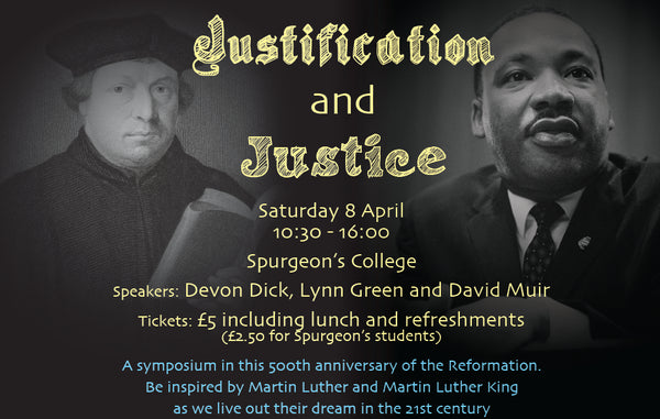 Justification & Justice Symposium Tickets - Saturday 8th April 2017