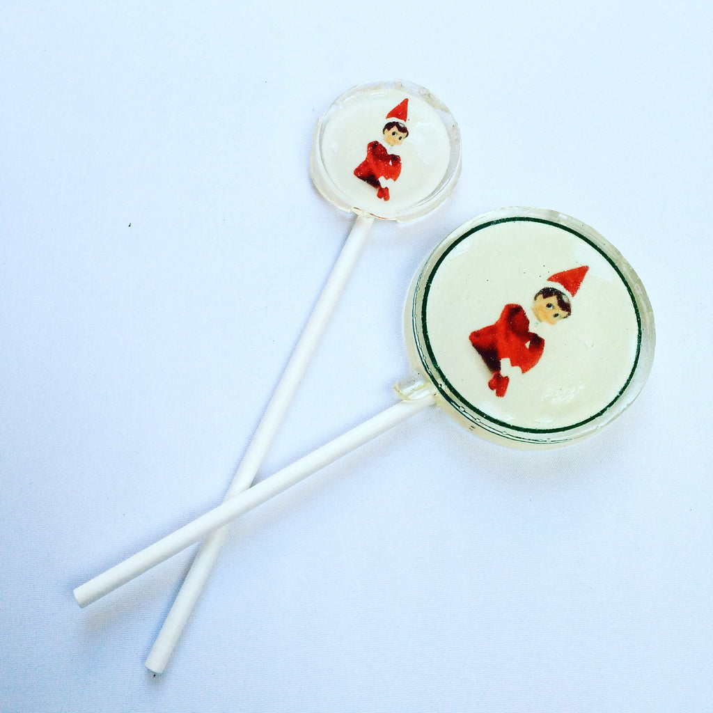 Elf on a shelf lollipop