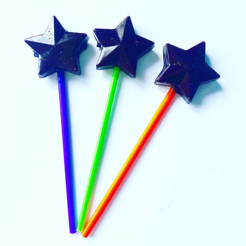Halloween Star lollipops