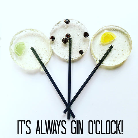 Gin Lollipops