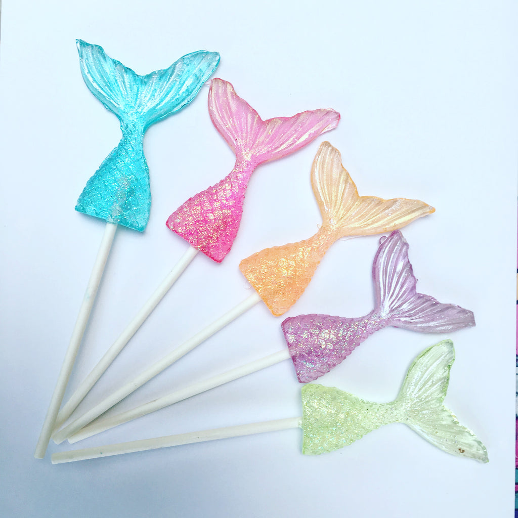 Mermaid Tail Lollipop