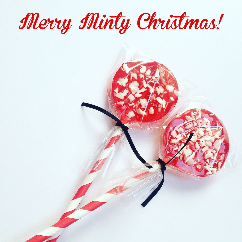 Merry Minty Christmas Lolly