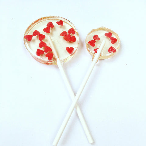 Copy of Red Heart Sprinkle Lollipops